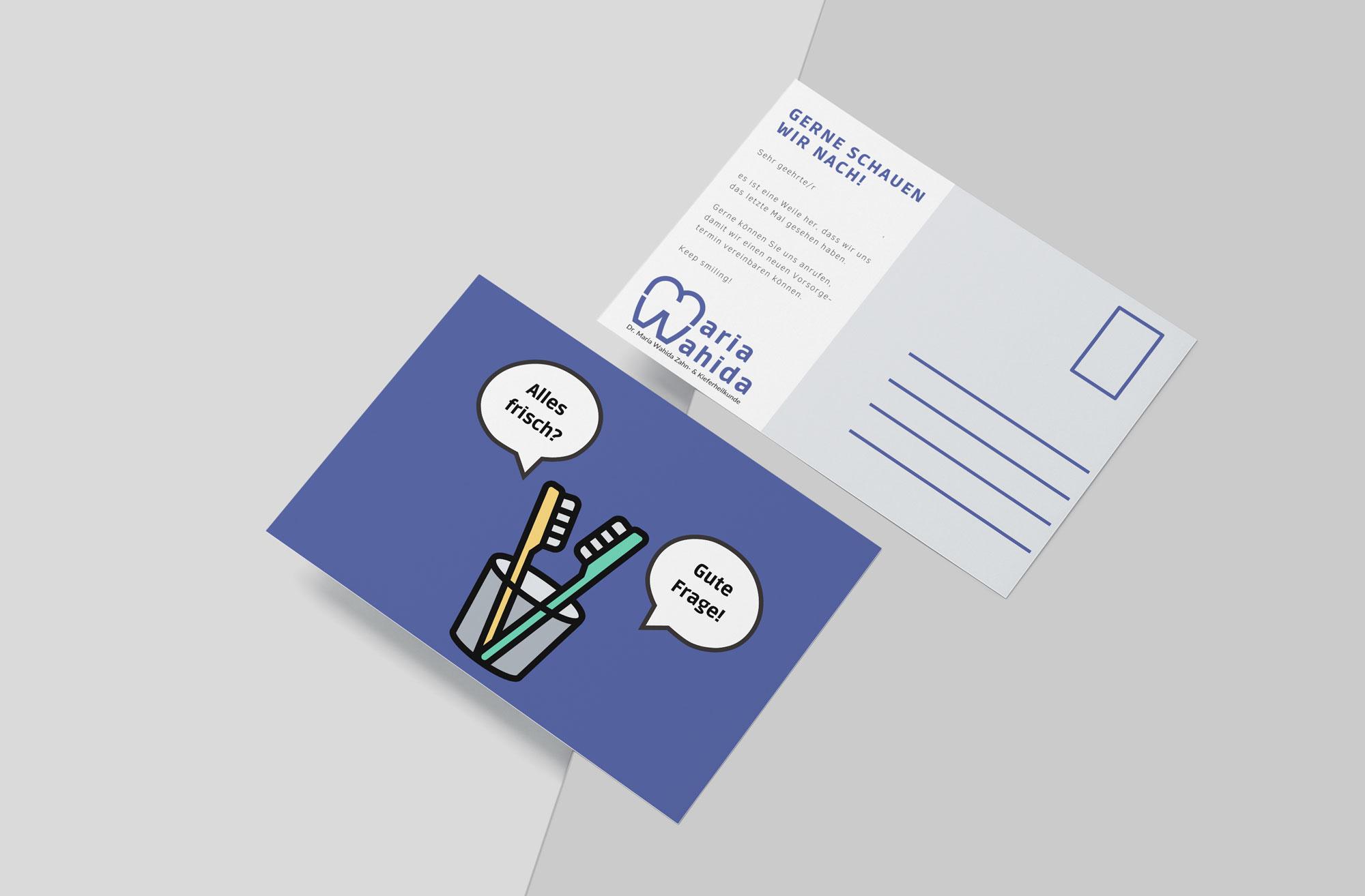 Beispiel für Grafikdesign und Printmedien für Mediziner und Therapeuten Minerva Kreativagentur Digitalagentur für die Gesundheitsbranche